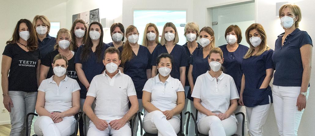 Teambild Zahnarztpraxis Dr. Seib